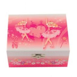 Boîte à bijoux motif ballerine