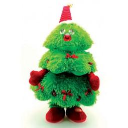 Monsieur sapin de Noël dansant