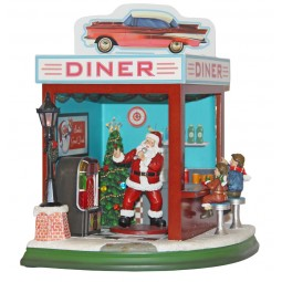 Restaurant fast-food du Père Noël