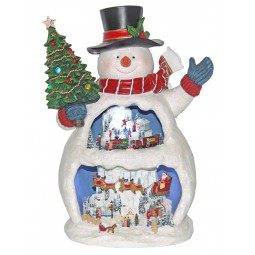 Grand bonhomme de neige