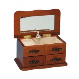 Armoire à bijoux en bois
