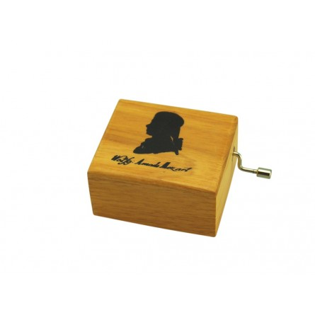 Boîte à musique en bois Mozart