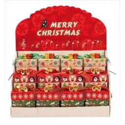 """Présentoir """"Cadeau"""" comprenant 12 boîtes cadeau"""