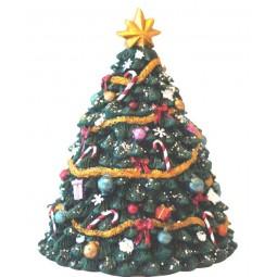 Petit sapin de Noël décoré, 135 mm