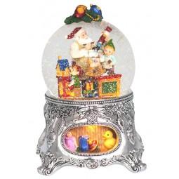 Boule de neige atelier du Père Noël