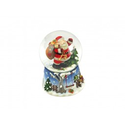 Boule de neige Père Noël