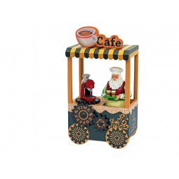 Bistrot café mobile du Père Noël