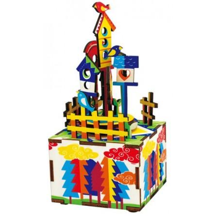 Boîte à musique puzzle Château dans le ciel