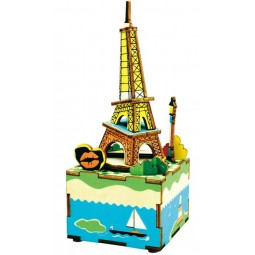 Boîte à musique puzzle Tour Eiffel